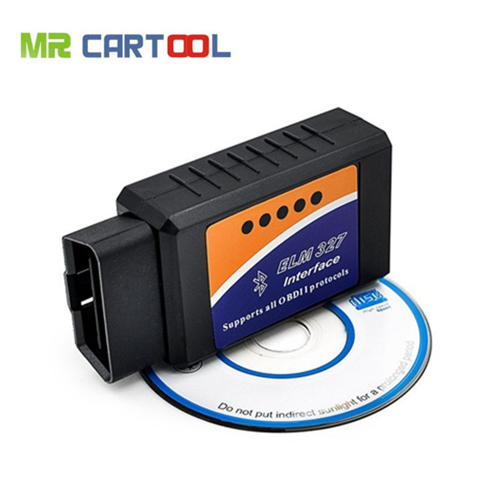 ELM327 BT Bluetooth OBD2 Scan tool OBDII Car Diagnostic Scanner Code Reader Tool