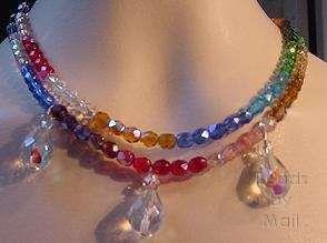 Pretty Rainbow Necklace!
