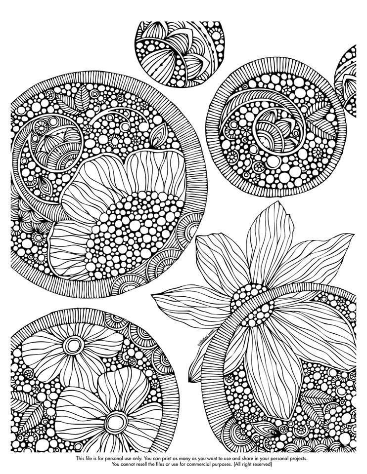 .Coloring Fun. . . Tangle art, Zentangle patterns
