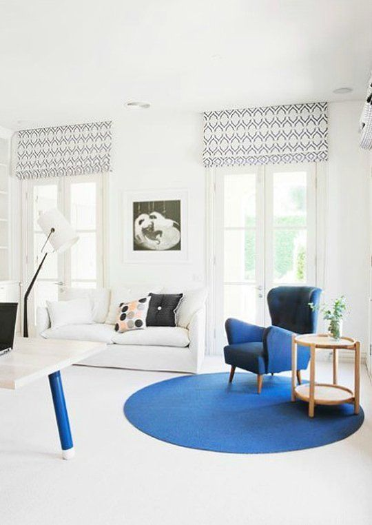 Real Room Inspiration Adding Color With Rugs Round rugs, Room