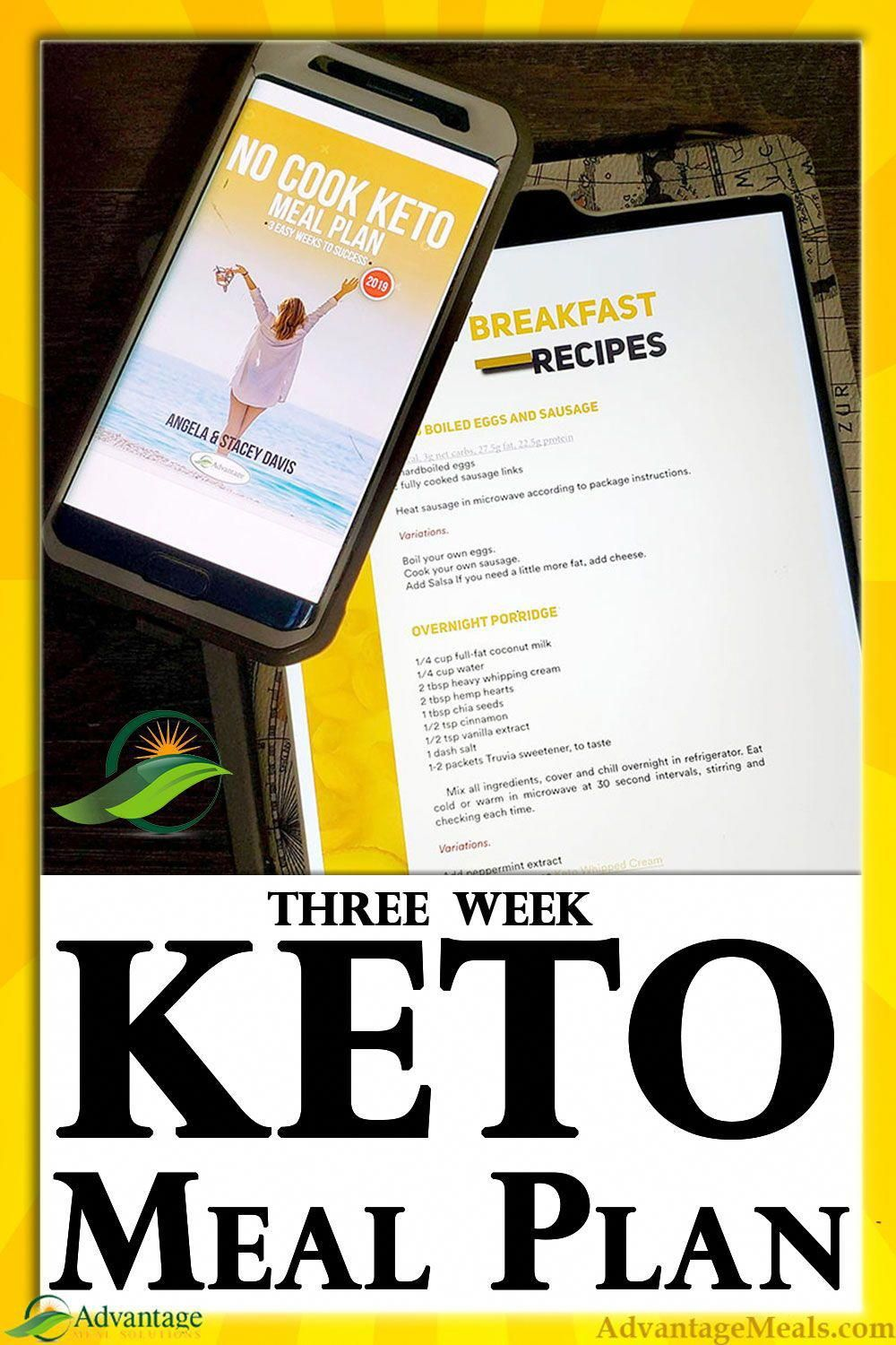 The easiest 21 Day Keto Meal Plan available Over 40 keto recipes designed to be be No Cooking Required and affordable I wrote this Ketogenic Meal Plan for beginners after...