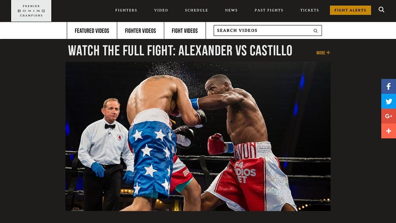 Pin em Follow up Boxing Fights and News