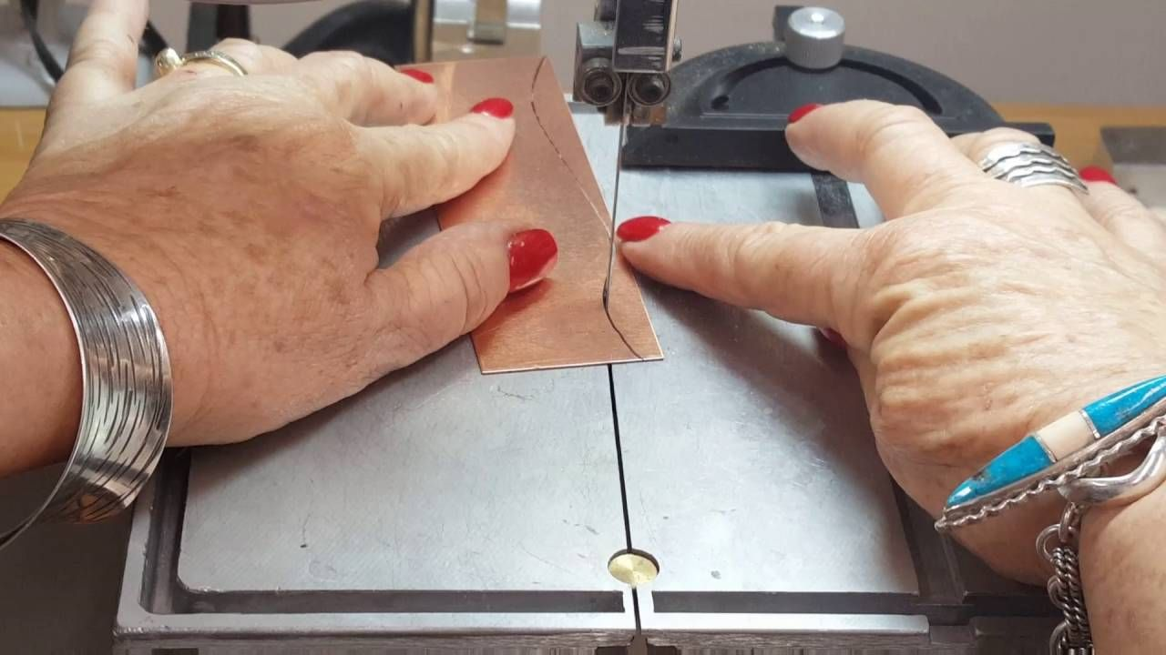 How to cut metal using a band saw by Joni Kisro How to