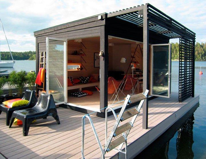 Swedish Company Kenjo Designs Small Cabin Like Prefab