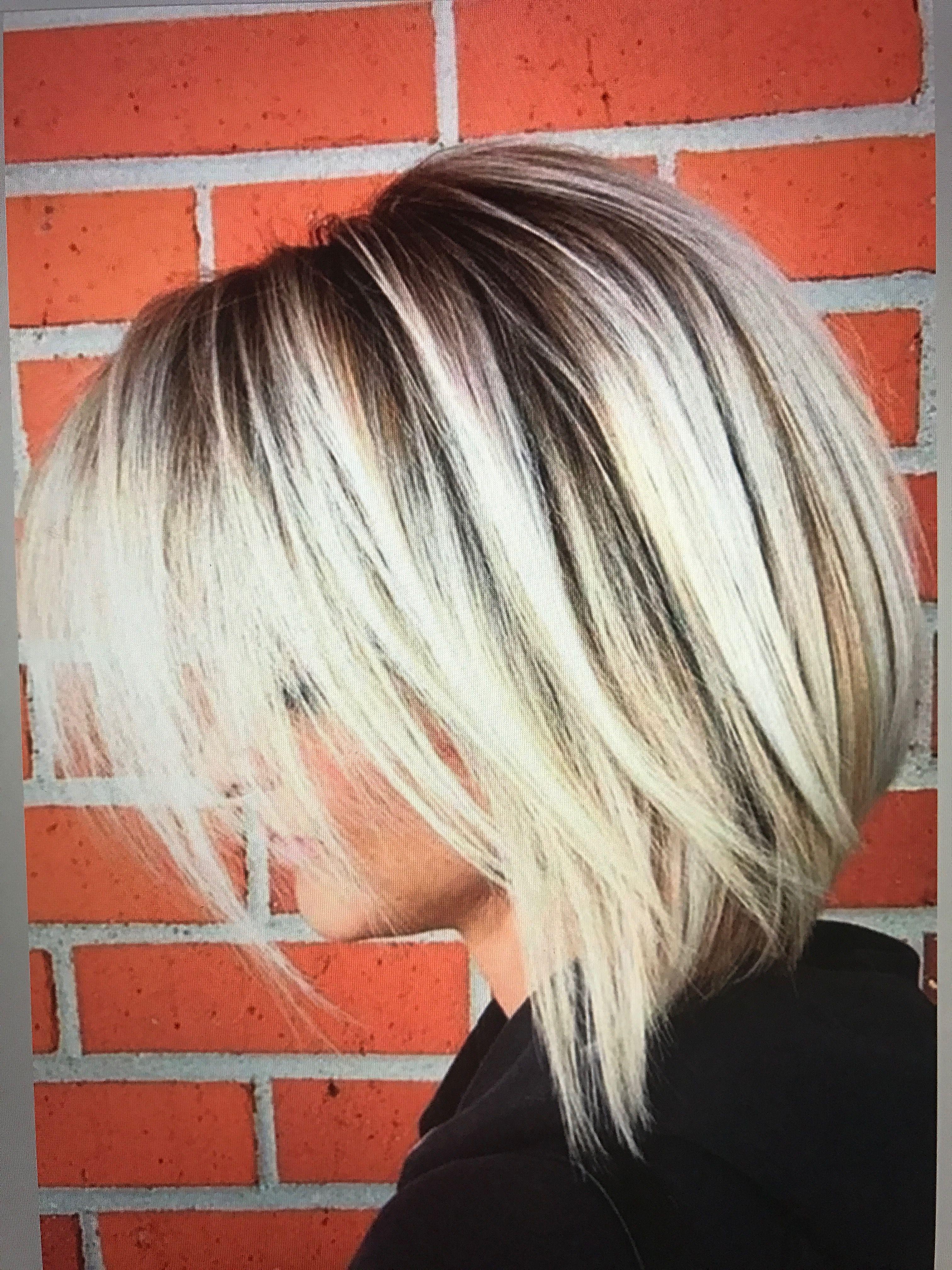 Frisure Blonde Bobs Frisure Harfarve
