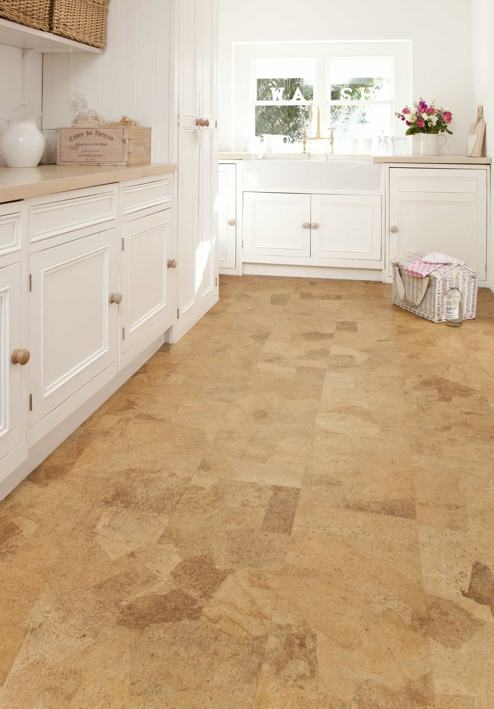 Cork Kitchen Flooring Is Perfect For Your Kitchen Cork Flooring Kitchen Modern Kitchen Tile Floor Kitchen Floor Tile Patterns
