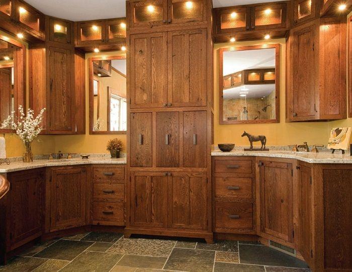 Amusing Fancy Kitchen Design Granite Tile Floor Reclaimed Wood