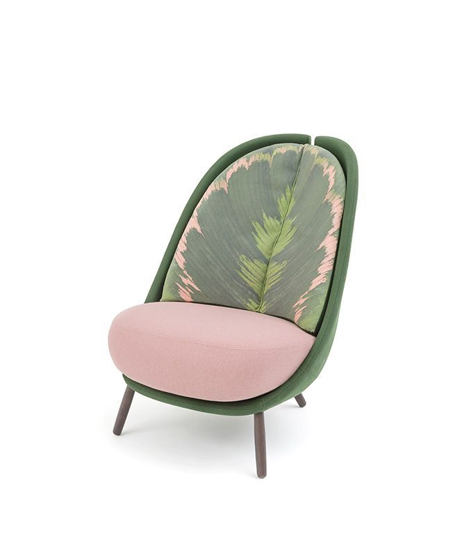eclectic and elegant alluring and charismatic calatea the armchair designed for pianca by cristina celestino is the synthesis of an exploration