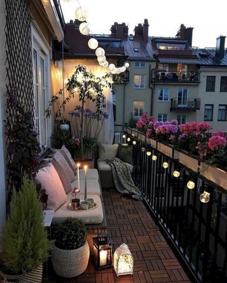 47+ Ideen fuer den kleinen balkon ideen