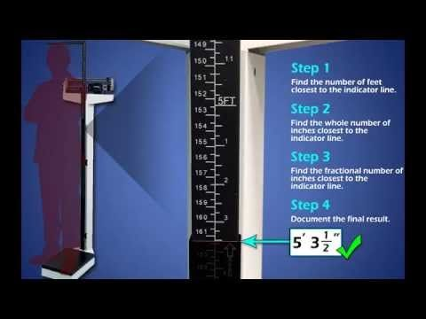 LearningTools: Reading Height Measurements on a Physician