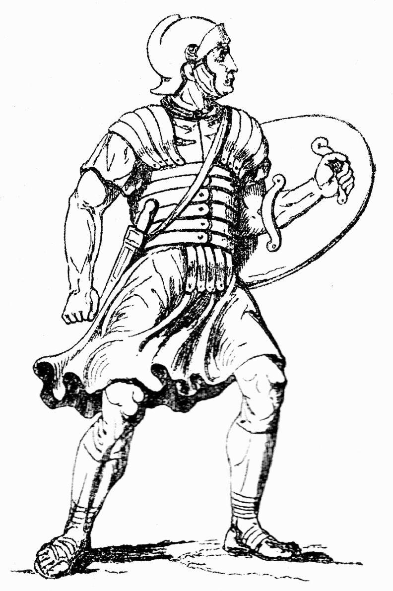 Roman Soldier Coloring Page | Coloring Pages | Pinterest | Roman ...