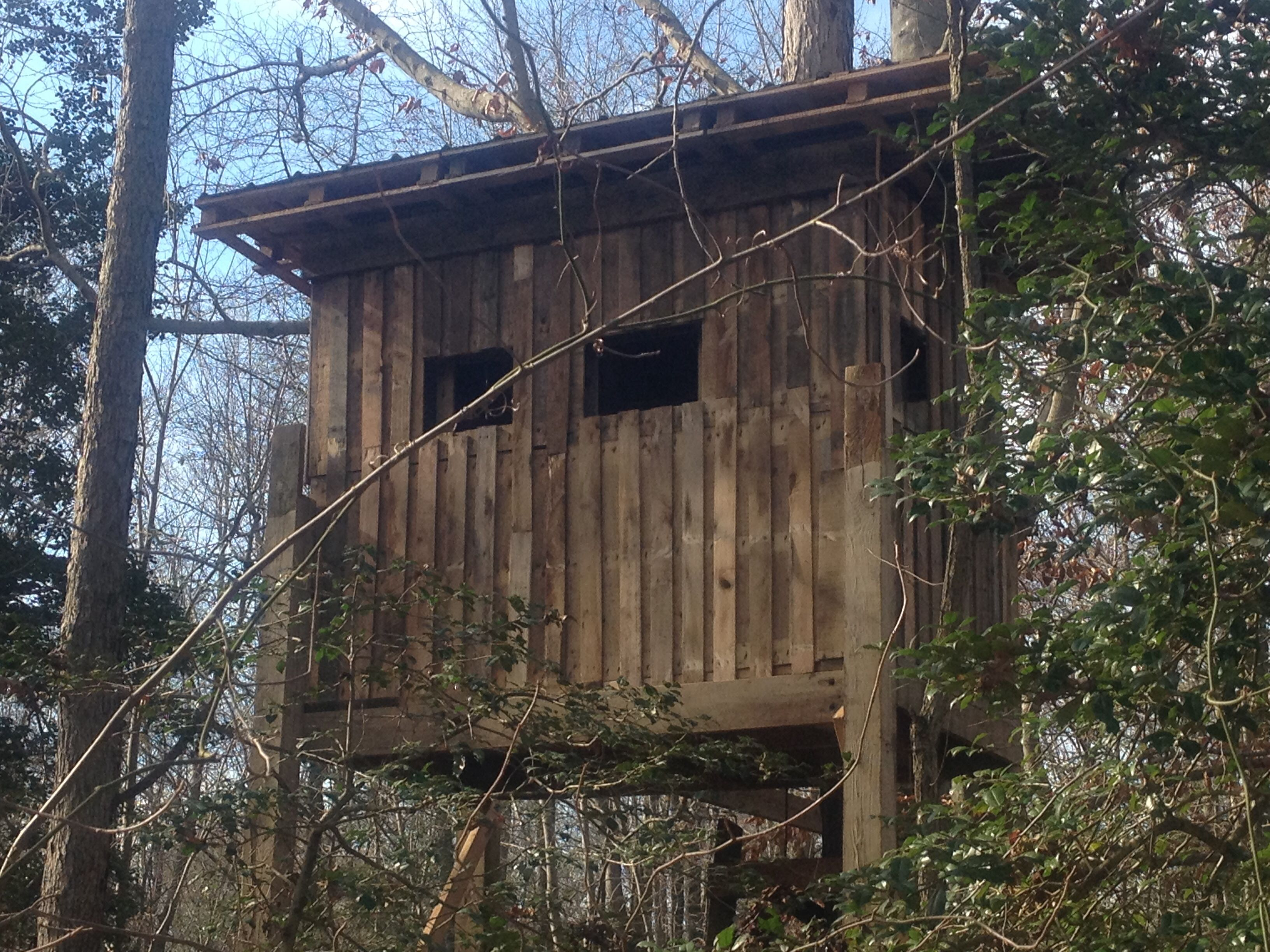 pallet deer stand hunting pinterest pallets deer