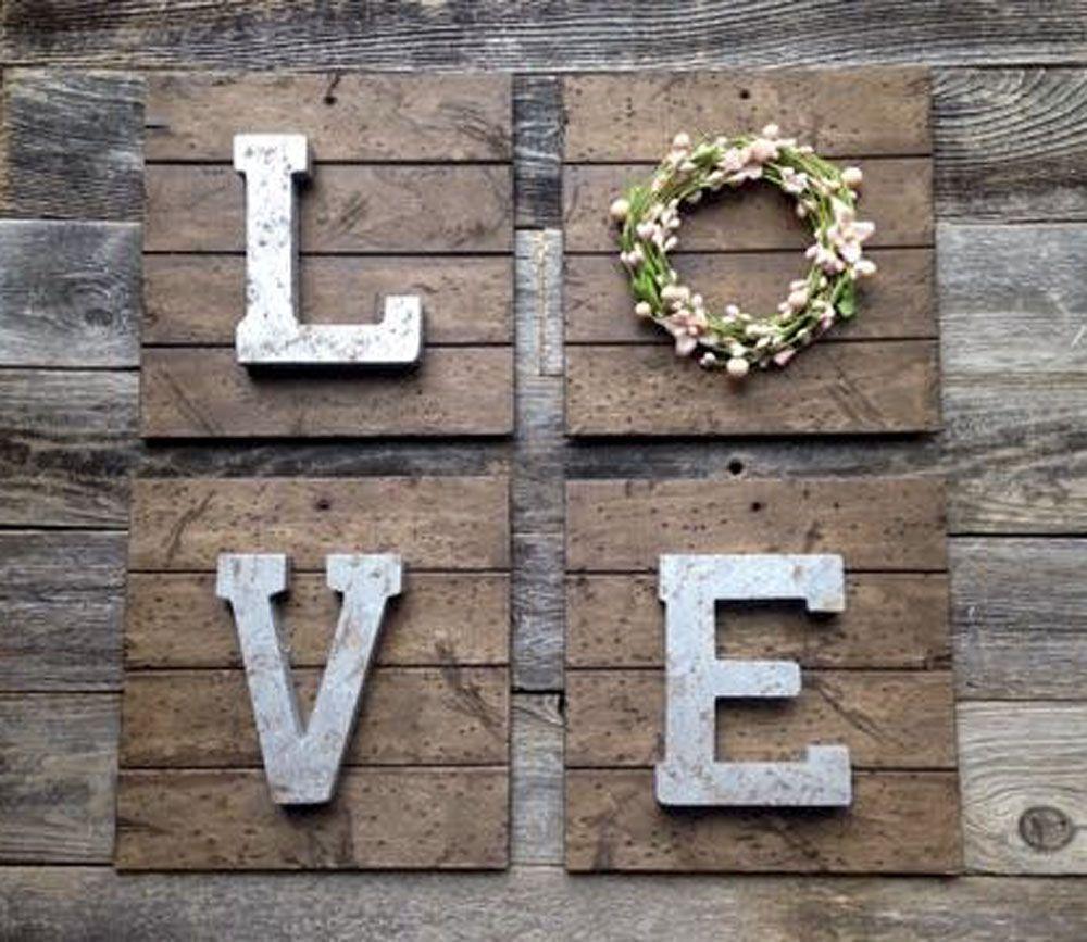 Love sign nursery decor nursery wall art rustic home decor