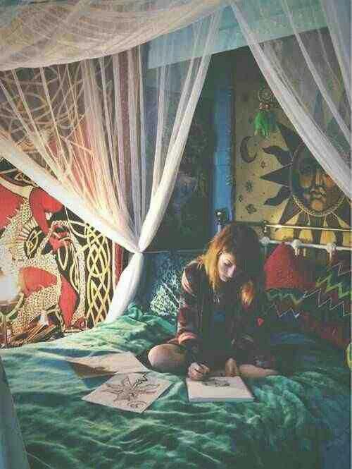 Hippie Bedroom Room Ideas Pinterest Schlafzimmer Schlafzimmer
