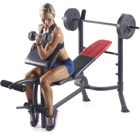 Free Shipping Buy Weider Pro 265 Standard Bench With 80 Lb Vinyl