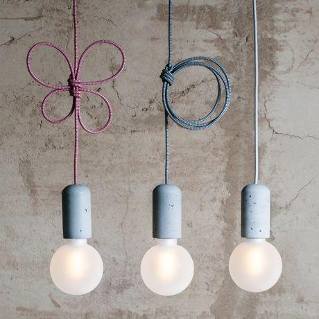 Concrete Pendant Lamp by Jakub Velinsky   MONOQI