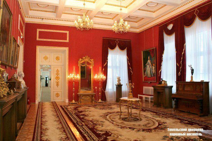 Беларусь, Гомельский дворец