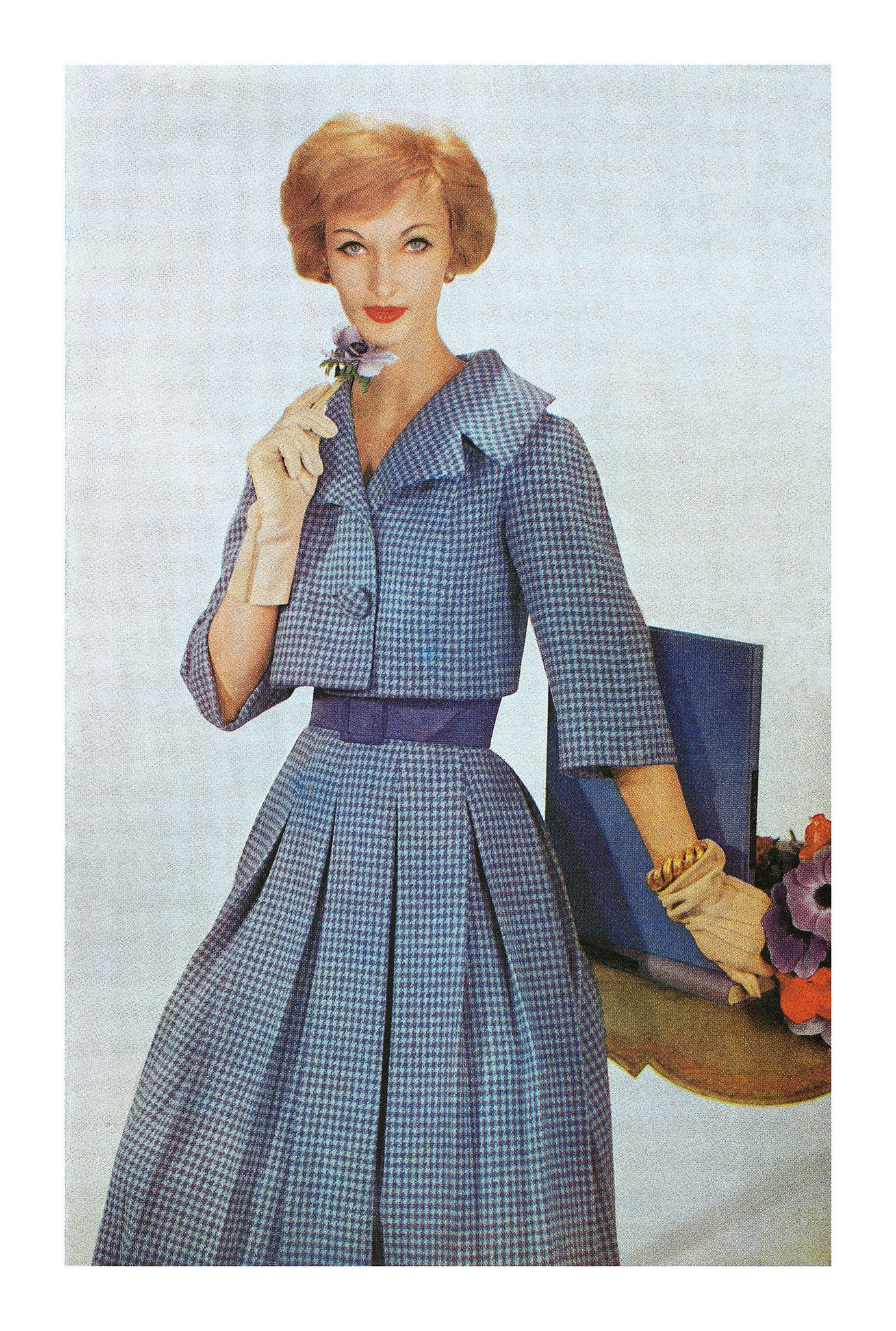 First Suits Of Spring The Ladies Home Journal 1959 Fashion