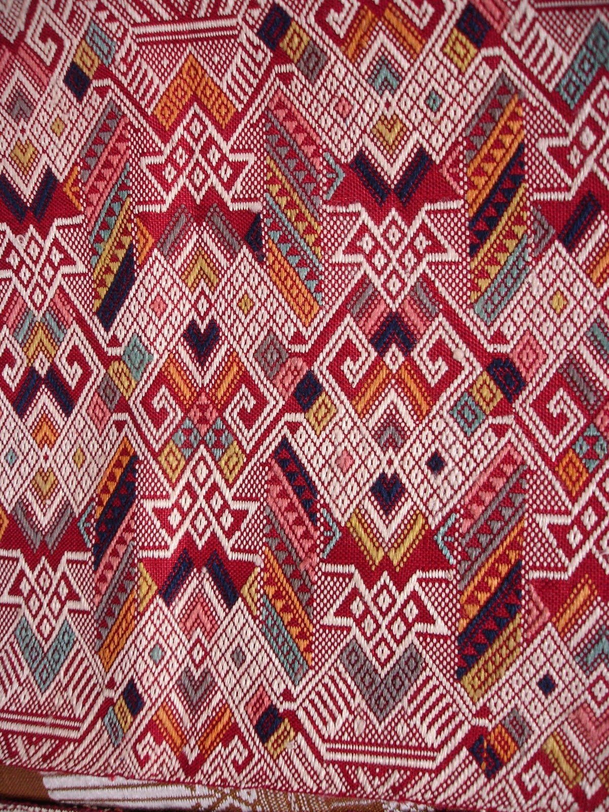 Pepo Passion Laotian Weaving Workshop Patterns