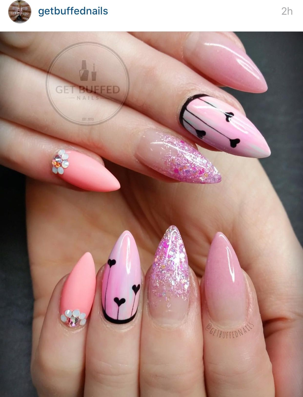 Pin by Jontey Wylie on Nails | Pinterest