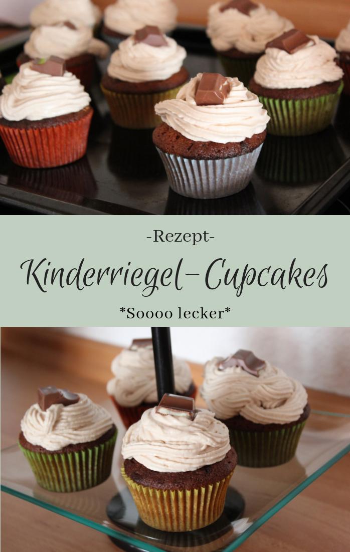 Kinderriegel Cupcakes - The inspiring life