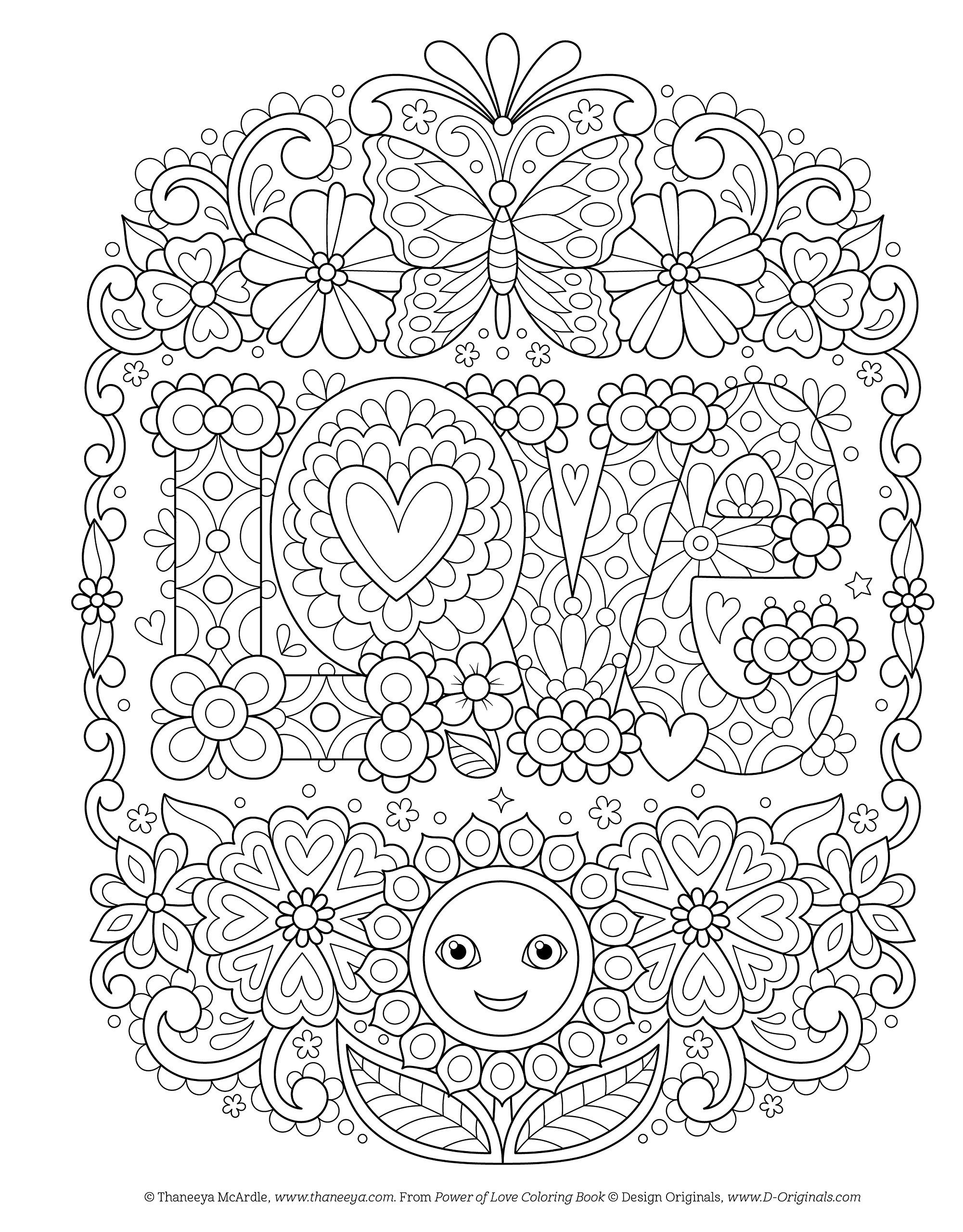 Amazon Com Power Of Love Coloring Book Coloring Is Fun 9781497203204 Thaneeya Mcardle Books Love Coloring Pages Coloring Books Coloring Pages