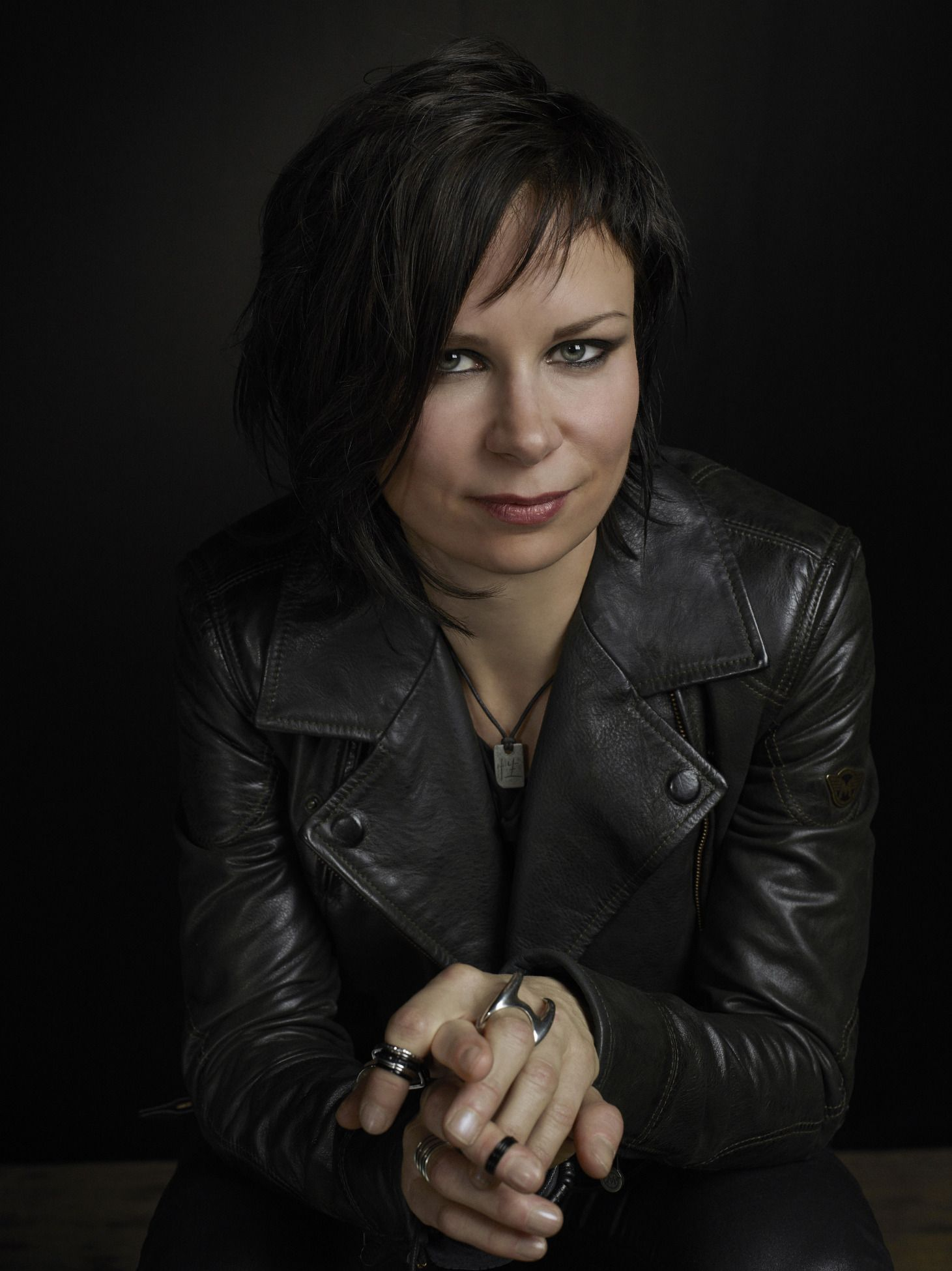 Mary Lynn Rajskub, star of 24 – Live Another Day wore the Matchless Soho Blouson in the season premiere