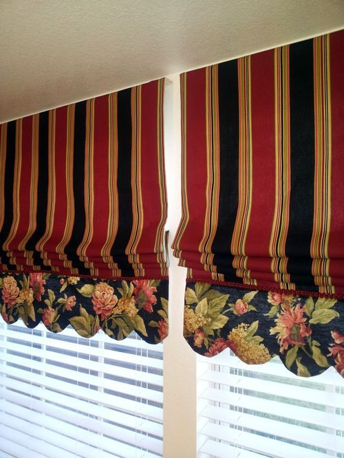 January 31 Roman Shades Curtains With Blinds Diy Blinds