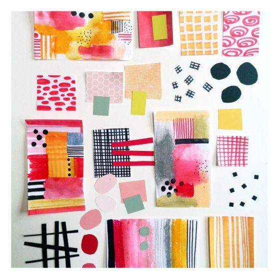 Creative Color Schemes blogpost- color me creative color palette julie hamilton creative