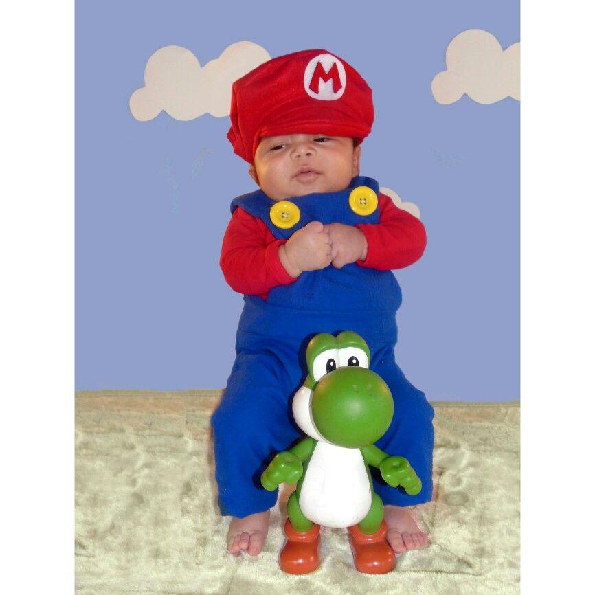 bebeadorable mariobros yoshi cosplay bebe costume disfraz bebe mario bros fotos ideas pinterest mario bros and bebe - Bebe Mario