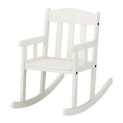 Ikea Sundvik White Childrens Rocking Chair
