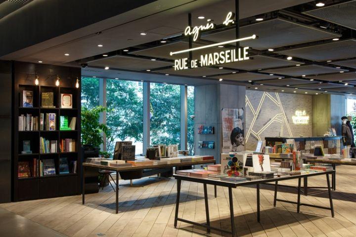 Agnes B Rue De Marseille Store Hong Kong Retail Design Blog Retail Design Retail Interior Design