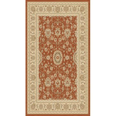 Charlton Home Lavelle Red Ivory Area Rug Rugs Area Rugs