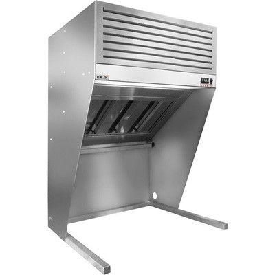 F E D Hood1500 Bench Top Filtered Hood 1500mm Exhaust Hood Restaurant Kitchen Equipment Cleaning Gutters