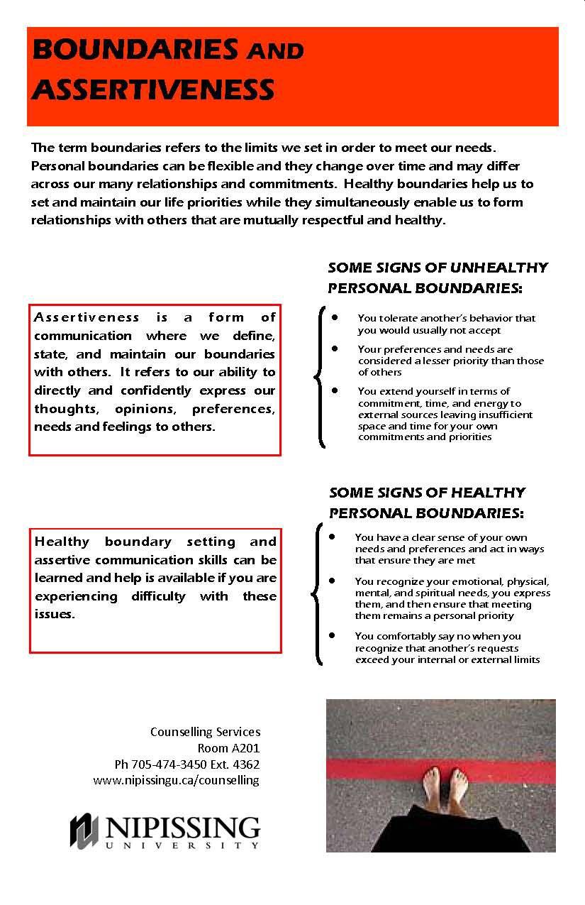 Boundaries And Assertiveness Jpg 825 1 275 Pixels Life Priorities Healthy Relationships Healthy Boundaries