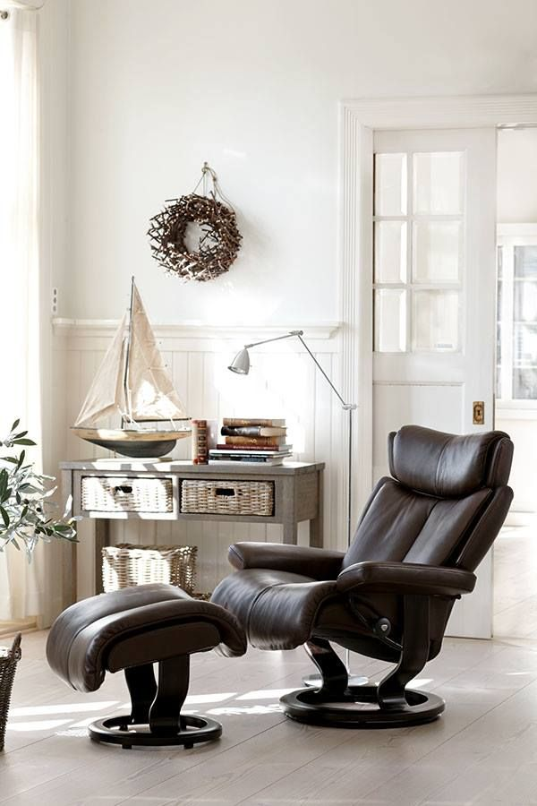 Stressless Magic Stressless Leather Recliner Chairs Stressless Furniture Stressless Recliner Comfy Chairs #reclining #chair #living #room