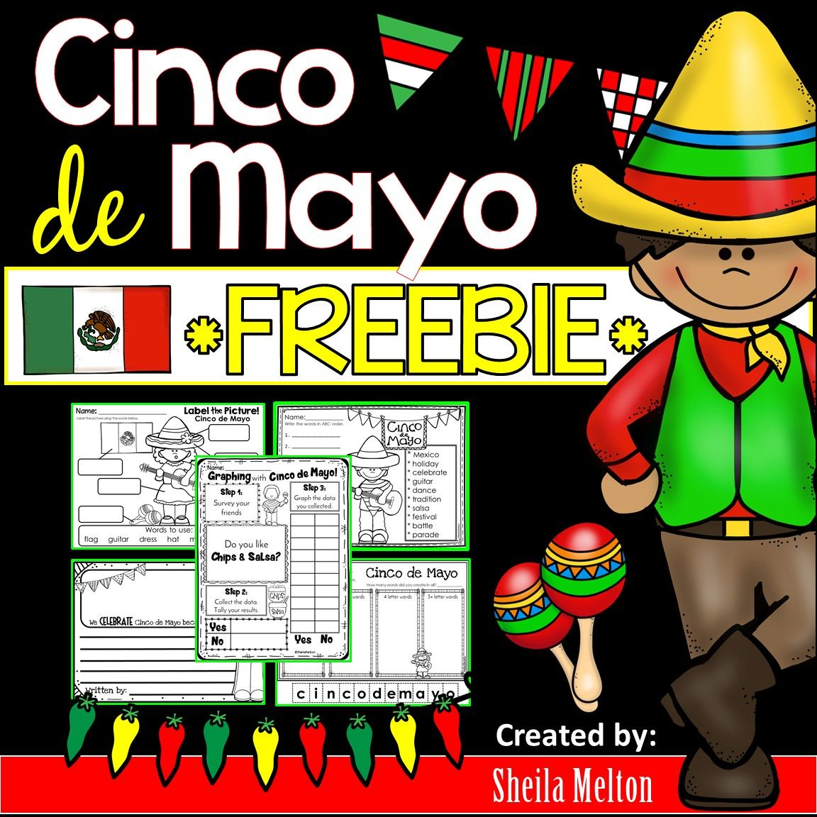 Cinco De Mayo Activities Freebie