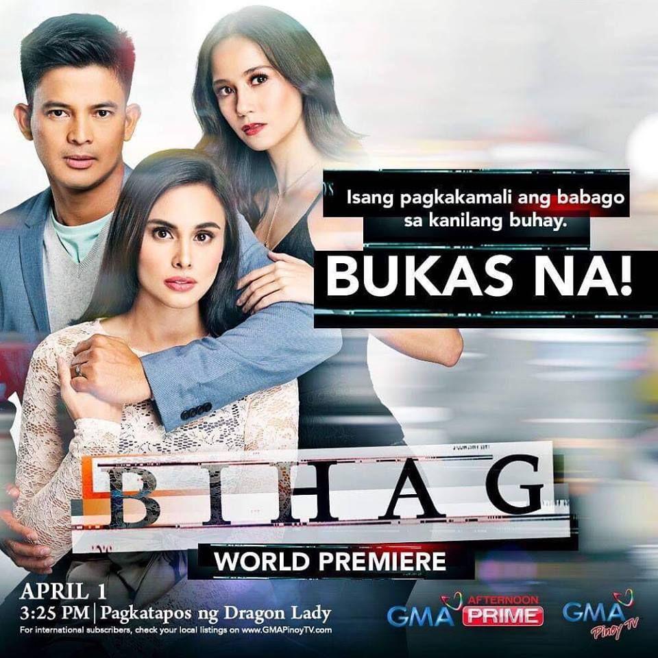 Bihag April 8 2019 Gma network, Tv shows, Pinoy