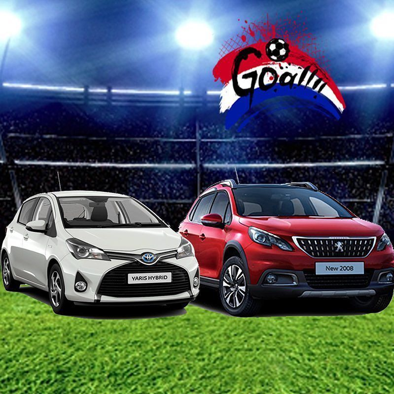 Score a winning deal on your next car with our Goal event