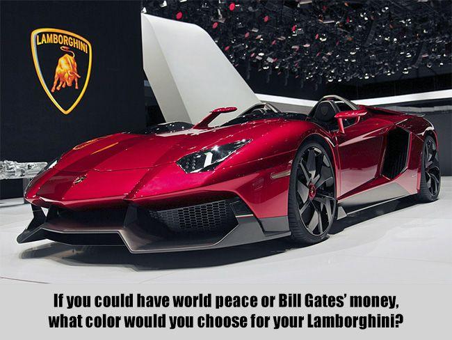 World Peace Vs Bill Gates Money With Images 2012 Lamborghini