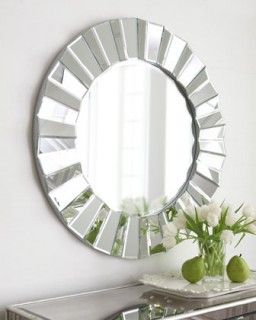 Round Mirror, perfect for anywhere in the house