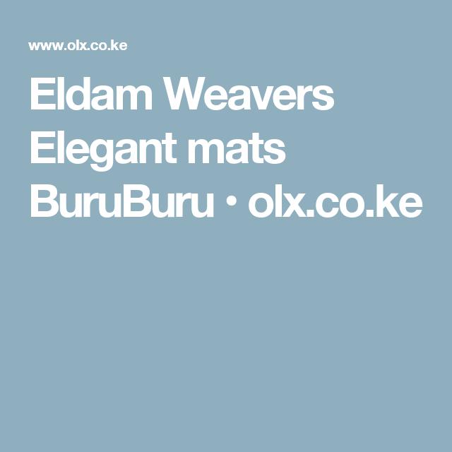 Eldam Weavers Elegant Mats BuruBuru O Olxcoke