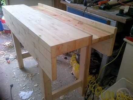 Wondrous Workbench Id Like To Model Mine After New Bronx Shop Short Links Chair Design For Home Short Linksinfo