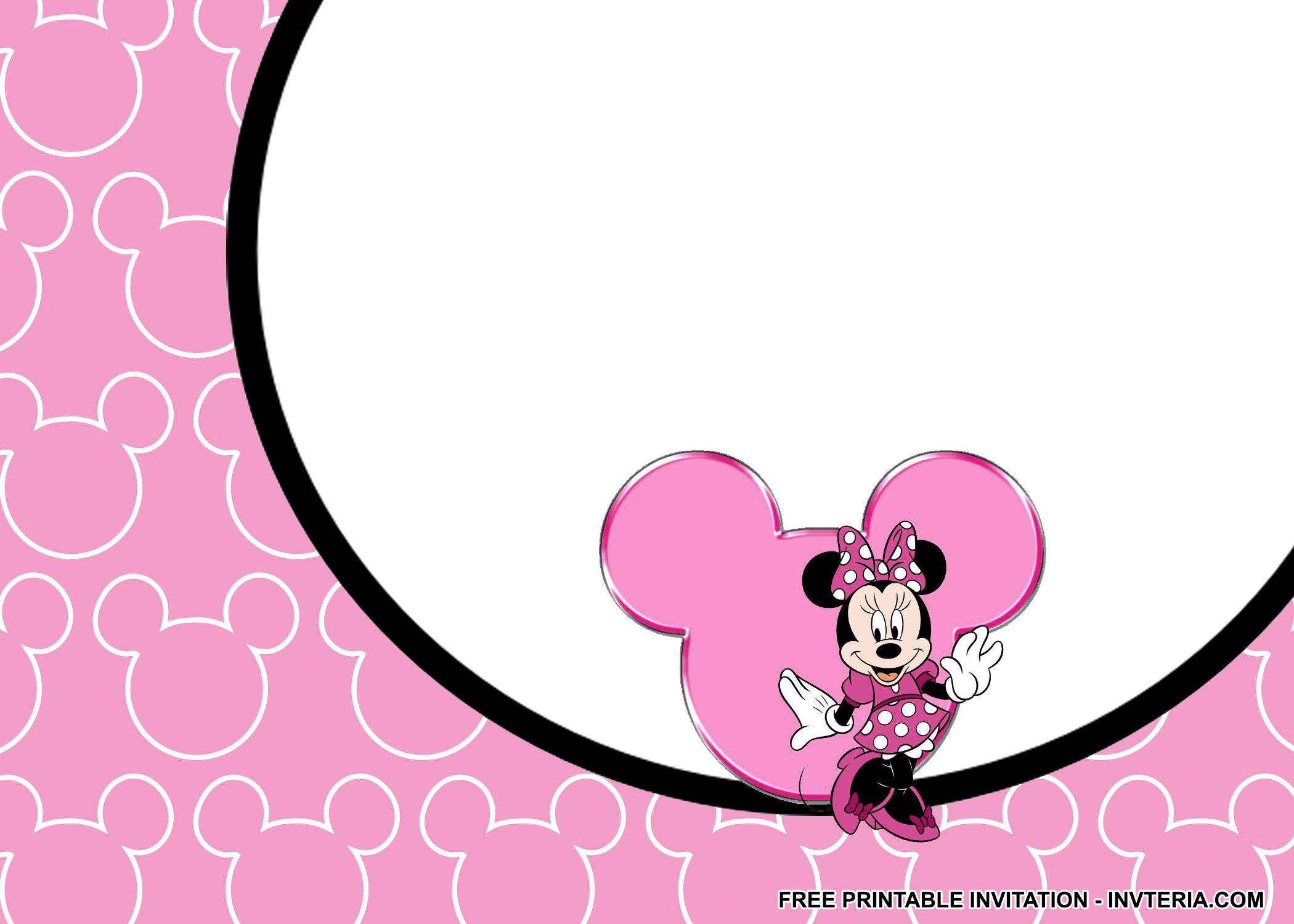 AWESOME FREE MINNIE MOUSE BIRTHDAY INVITATIONS IDEA | Invitation ...