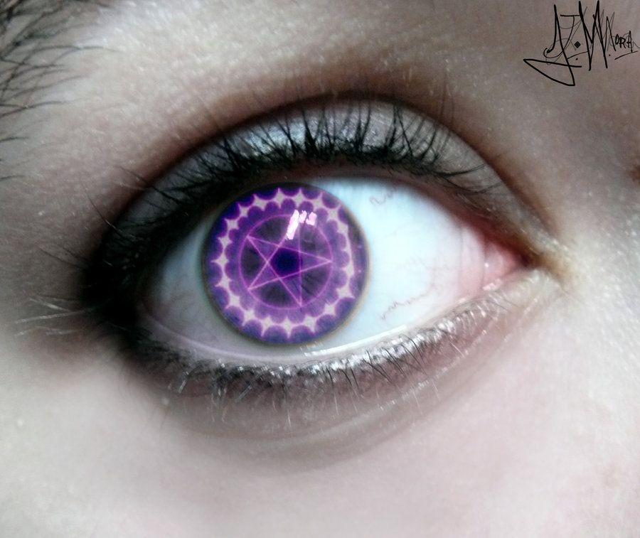 Eye artawesome eye contacts ciel phantomhive eye