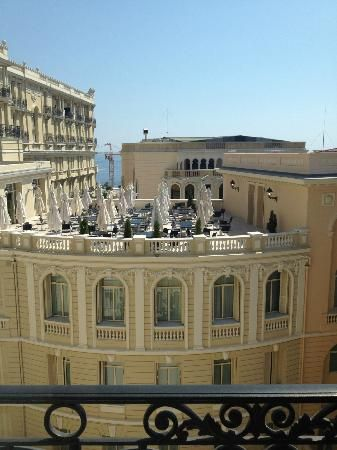 Hotel Hermitage: View from Room