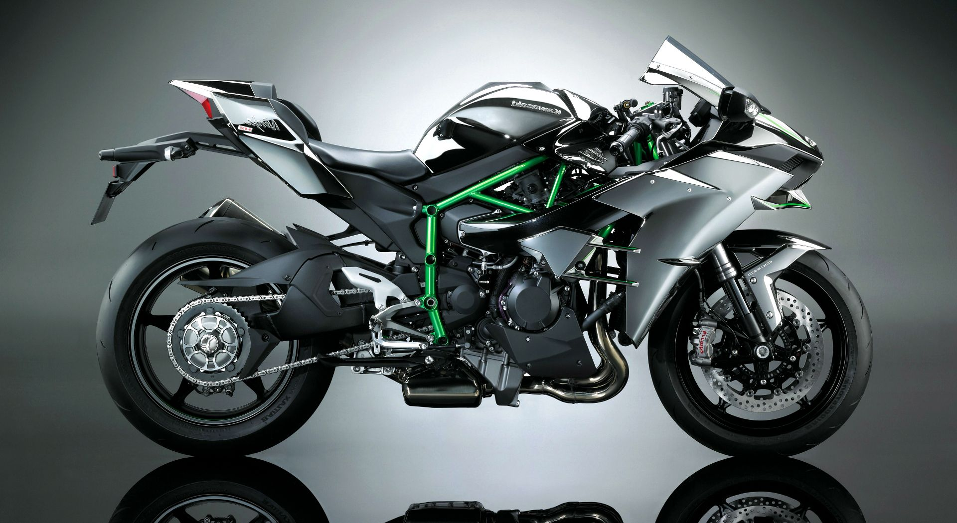 Download Kawasaki Ninja H2 Bike 4K HD Wallpapers 2017 HD