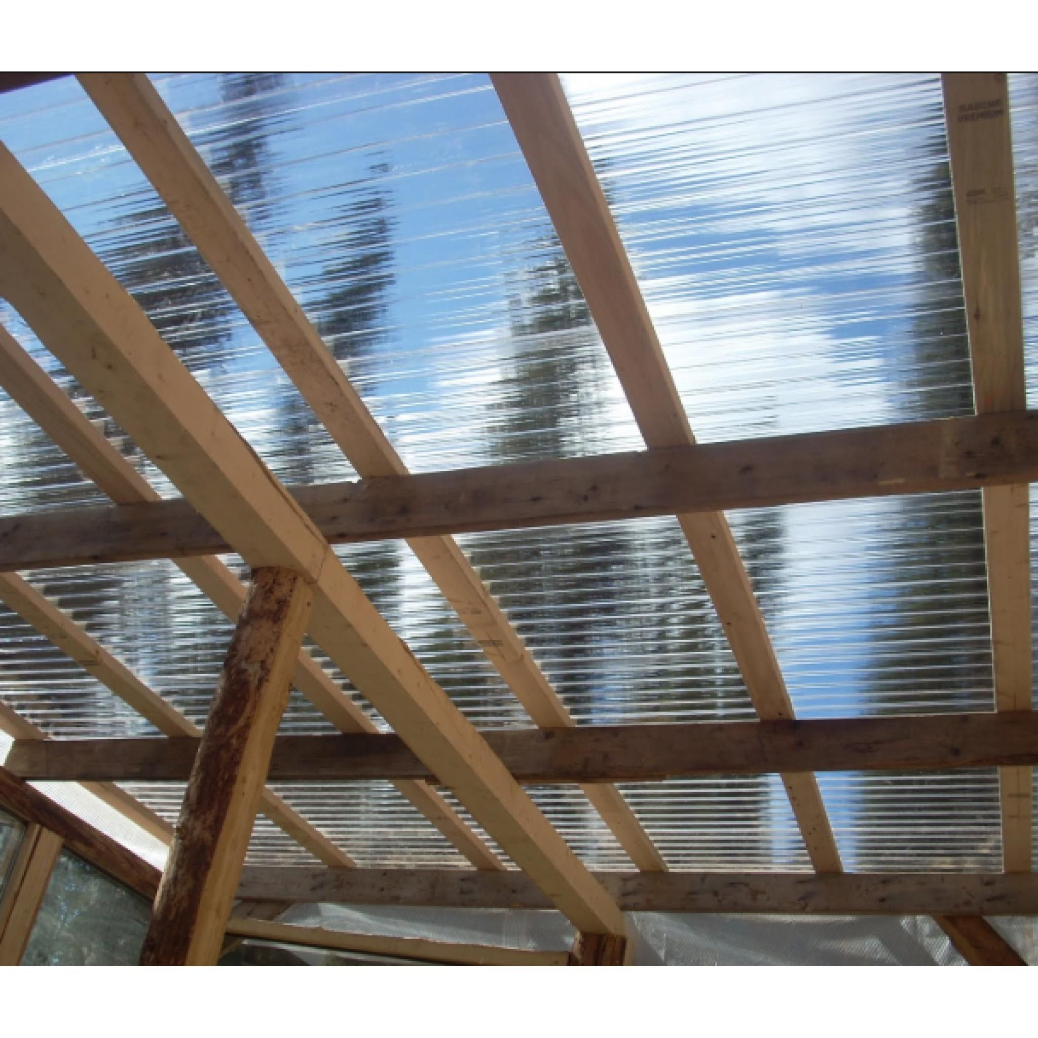 Pvc Corrugated Roof Sheet Clear 1 1mm Heavyweight 3 Profile In 2020 Corrugated Roofing Clear Roofing Sheets Roofing Sheets