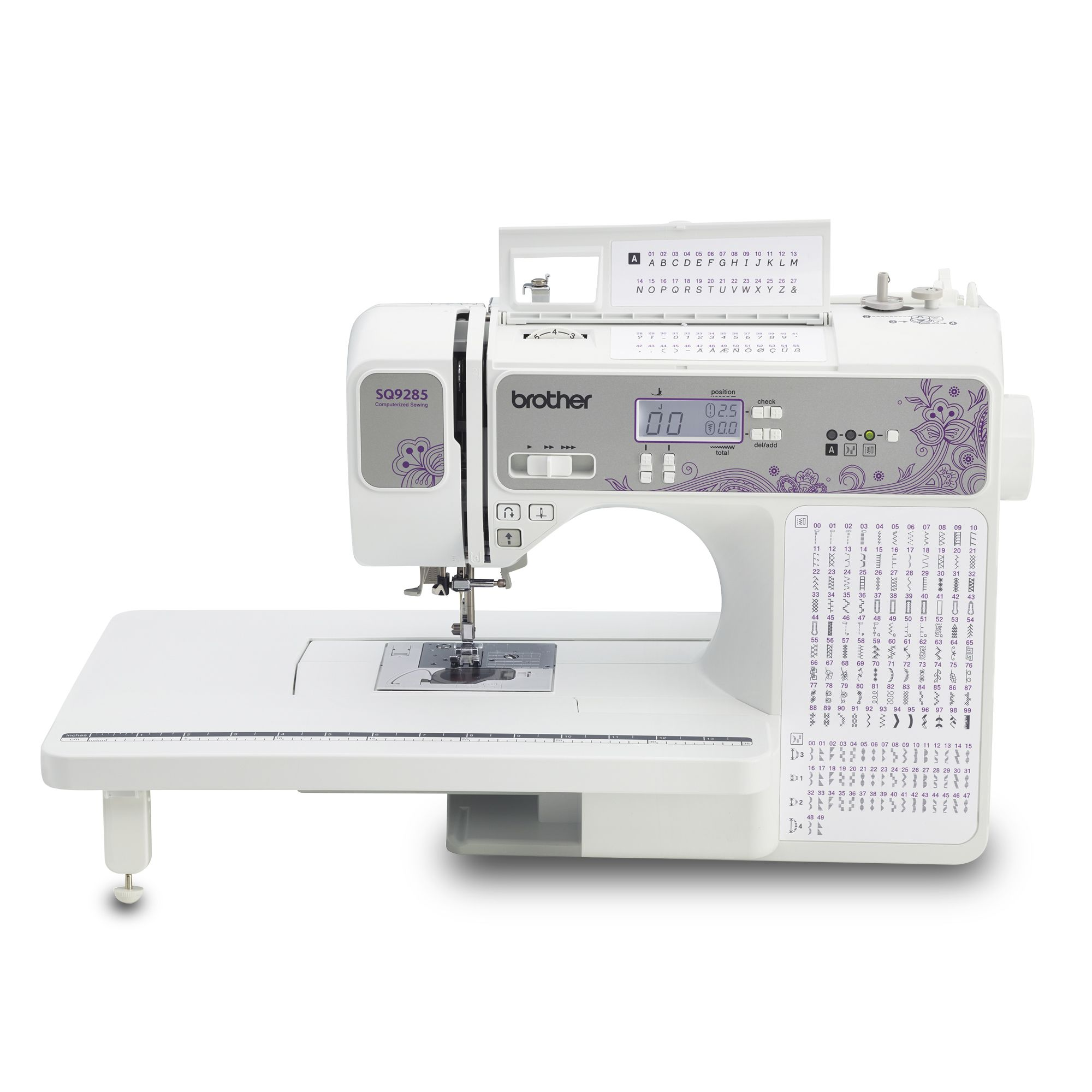 Brother Sq9285 Computerized Sewing Quilting Machine With 150 Stitches And Wide Table Walmart Com In 2020 Computerized Sewing Machine Quilting Sewing Machine