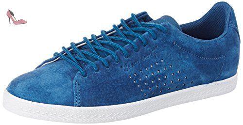 Le Coq Sportif Charline Nubuck, Baskets Basses Femme, (Ink Blue), 37 EU